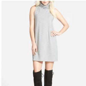 Leith sleeveless turtleneck dress